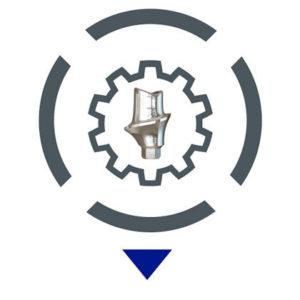 Ψηφιακή Εμφυτευματολογία: Εικονίδιο αναπαράστασης Υπολογιστικά Καθοδηγούμενης Κατασκευής